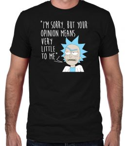 morty t shirt
