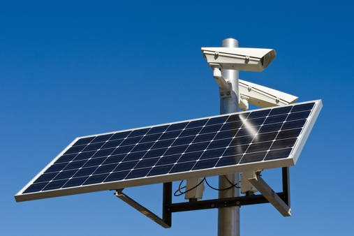 Solar Power Wireless Security