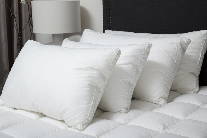 pillows hotels use