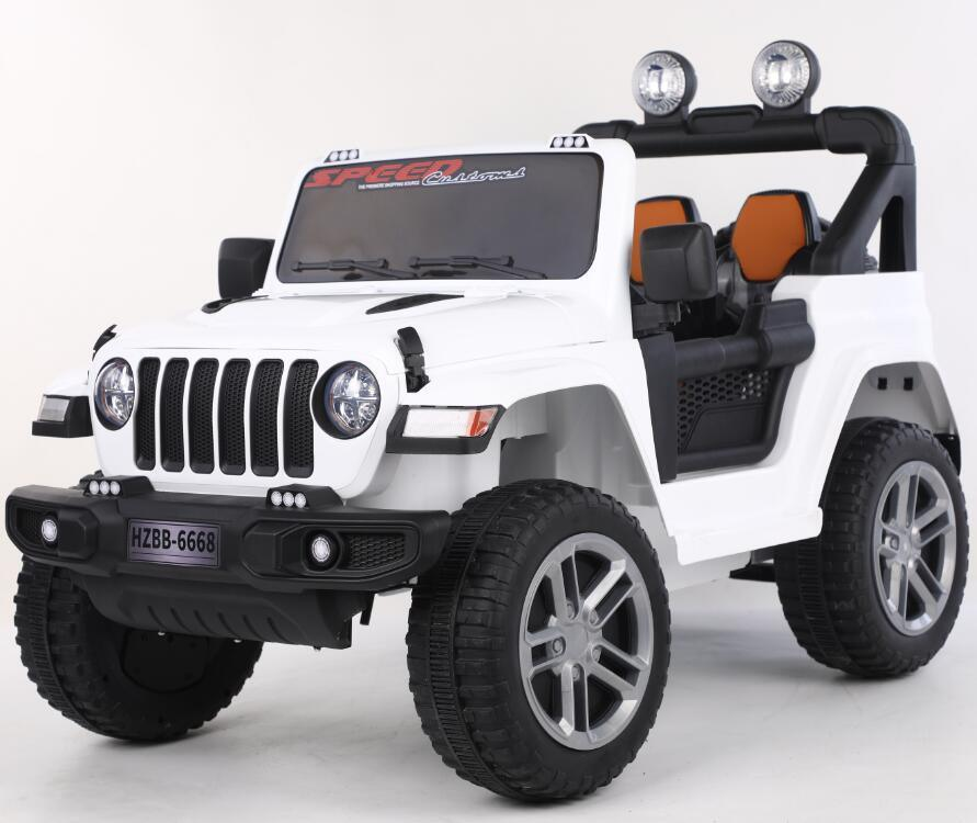 Ride on Jeep